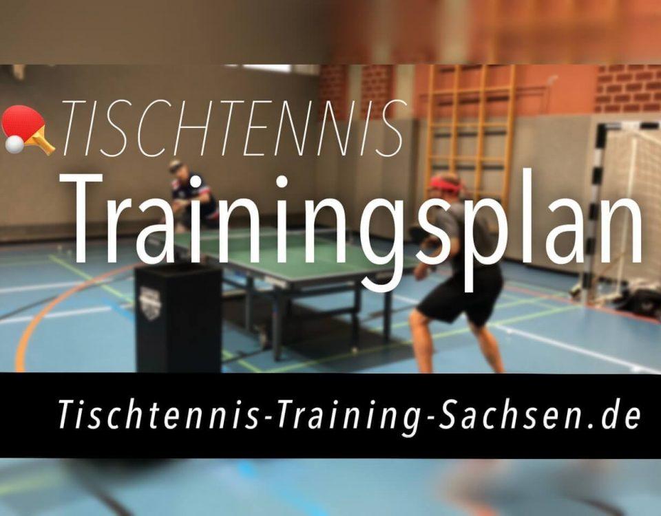 Trainingsplan Tischtennis-Training-Sachsen.de